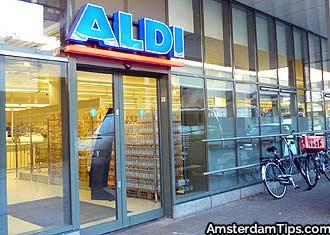 aldi supermarket amsterdam