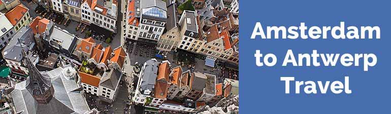 amsterdam to antwerp travel