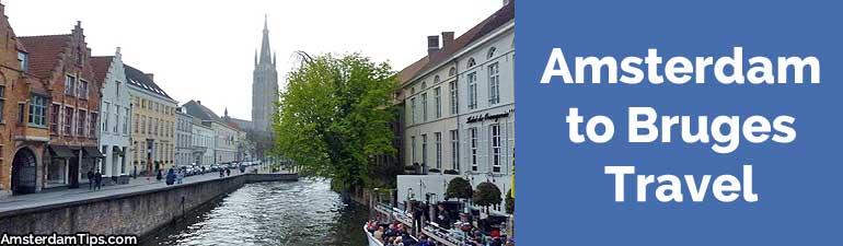 amsterdam to bruges travel