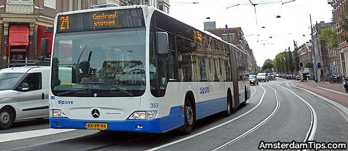 buses in amsterdam. Black Bedroom Furniture Sets. Home Design Ideas