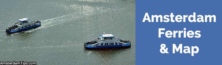 ferries in amsterdam