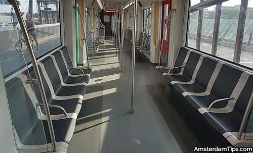 metro train amsterdam