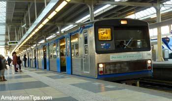 Amsterdam Metro Train Line Network | Amsterdam Metro Map