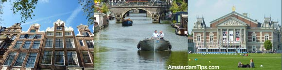 amsterdam in spring summer