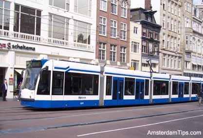 Strippenkaart Ticket Public Transport in Amsterdam Netherlands