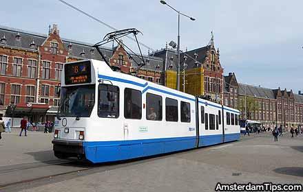 trams amsterdam
