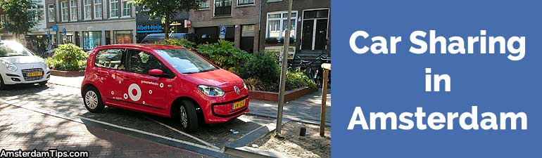 car sharing in amsterdam
