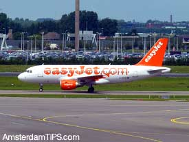 easyjet flight amsterdam
