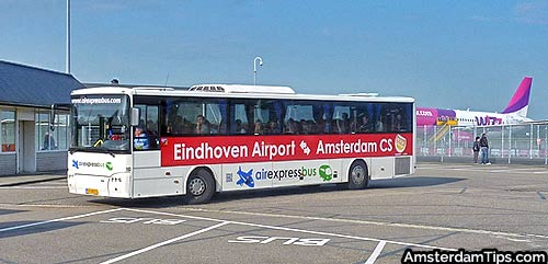 airexpress coach eindhoven airport to amsterdam