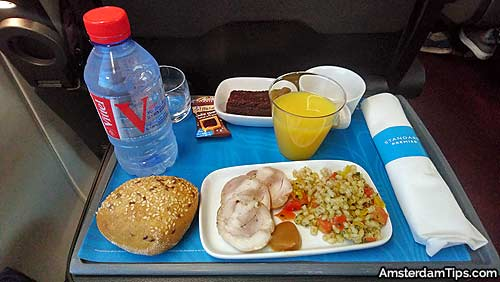eurostar standard premier meal
