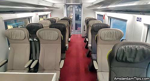 eurostar e320 standard premier seats