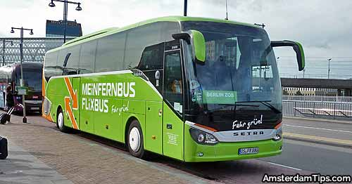 flixbus at amsterdam