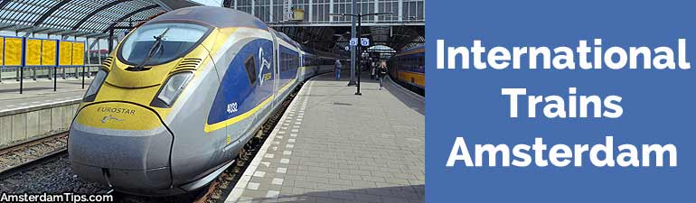 international trains amsterdam
