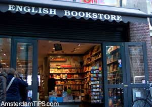 new english bookstore amsterdam