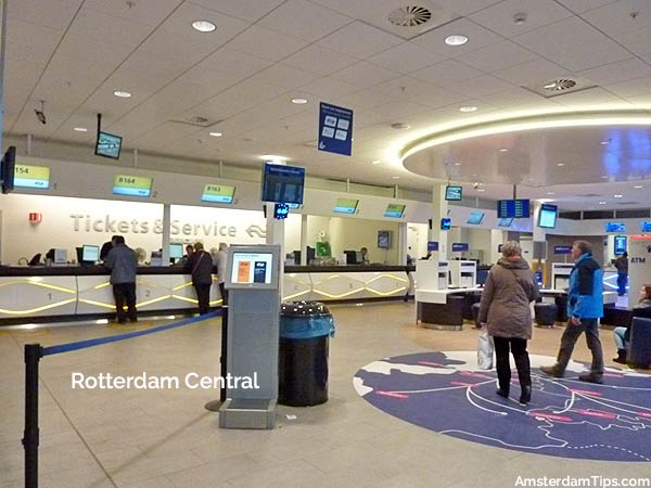 ns tickets and service counter rotterdam