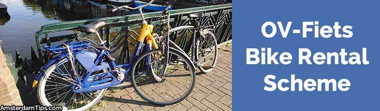 ov-fiets bike rental scheme