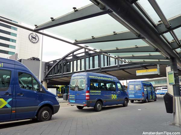 schiphol airport hotel shuttle bus
