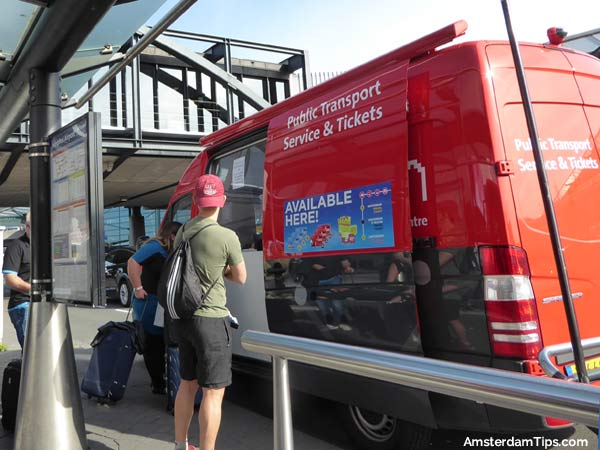 schiphol tickets and info bus