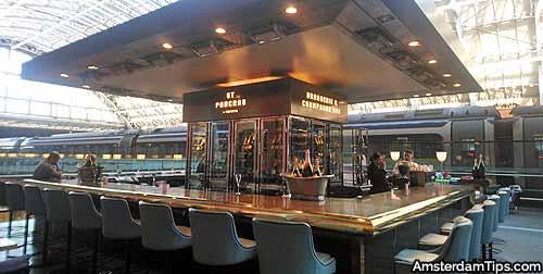 champagne bar london st pancras