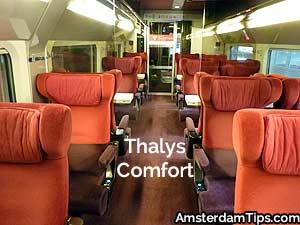 thalys comfort seats