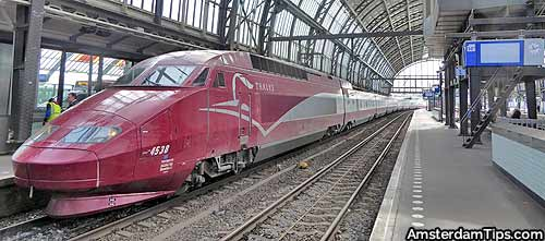 thalys train amsterdam