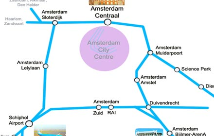 train map amsterdam preview