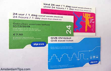 transport tickets amsterdam
