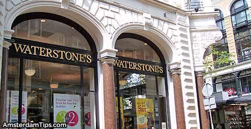 waterstones bookshop amsterdam
