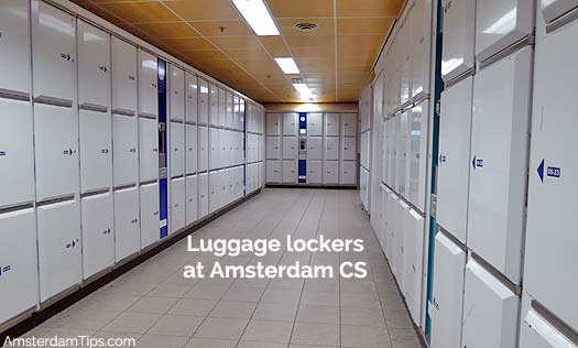 amsterdam central station baggage lockers