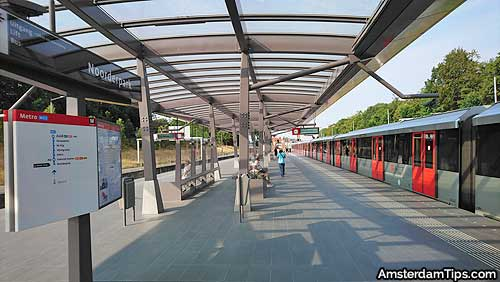 noorderpark station amsterdam