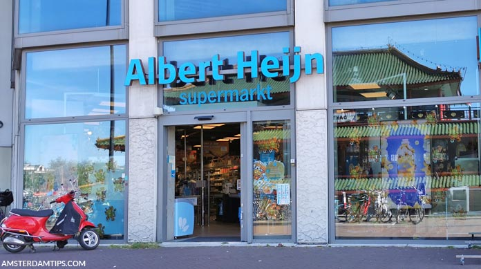 albert heijn supermarket amsterdam