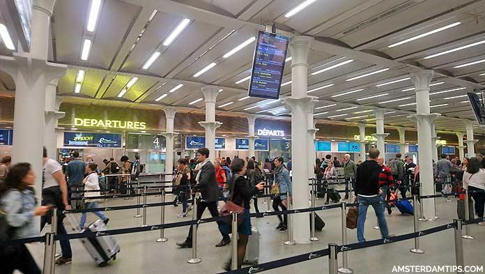 eurostar departures london