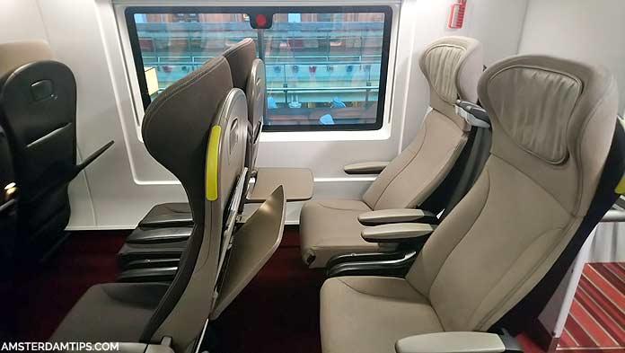 eurostar standard premier seat
