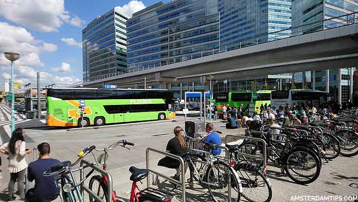 flixbus stop at amsterdam sloterdijk