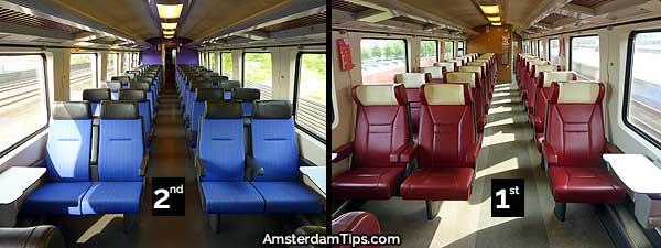 intercity direct train seats