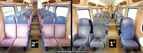 ns double-decker train seats