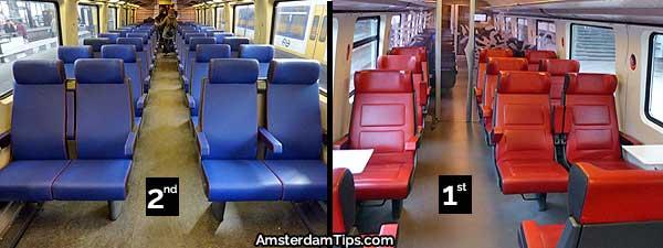 ns intercity train seats