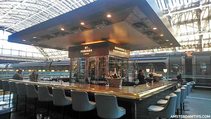st pancras champagne bar