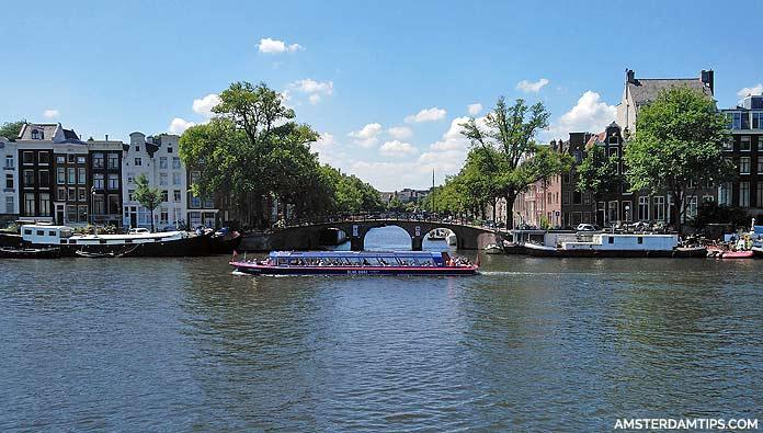 blue baot canal cruise amsterdam