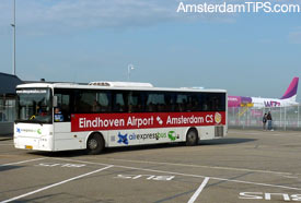 air express bus eindhoven airport