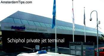 private jet terminal amsterdam schiphol