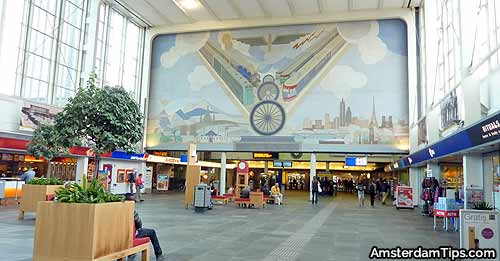 Train Stations In Amsterdam Centraal Station Amstel