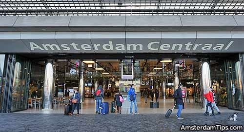 amsterdam central station ij side