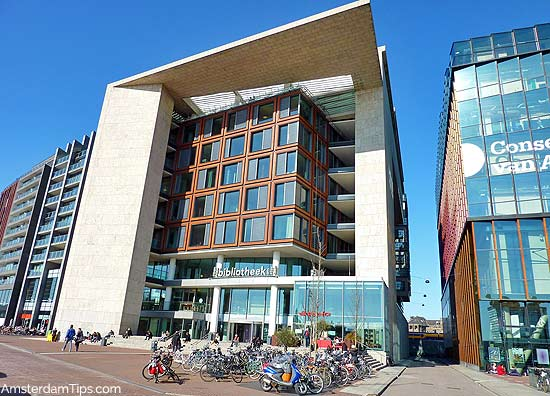 oba central library amsterdam