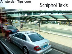 amsterdam schiphol taxis