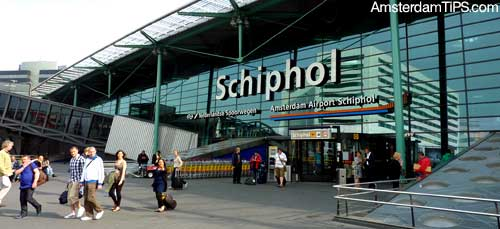 arrival at amsterdam schiphol