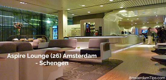 aspire lounge 26 amsterdam schiphol