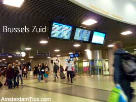 brussels zuid midi station