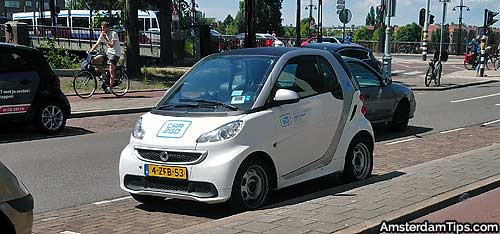 Greenwheels Connect Car Car Sharing Schemes Netherlands