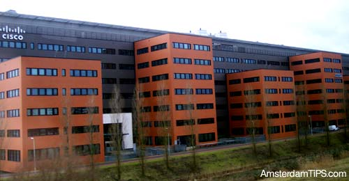 cisco systems hq office amsterdam